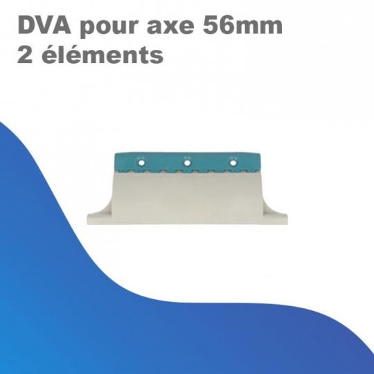 DVA pour axe 56 mm (2 éléments)