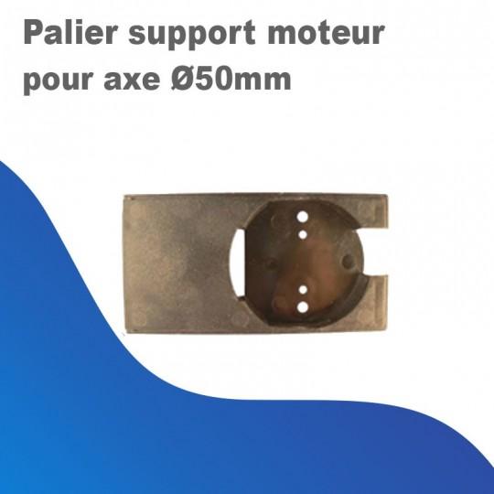 Palier support moteur pour axe Ø50mm