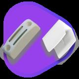 Clip et bloqueur de manivelle