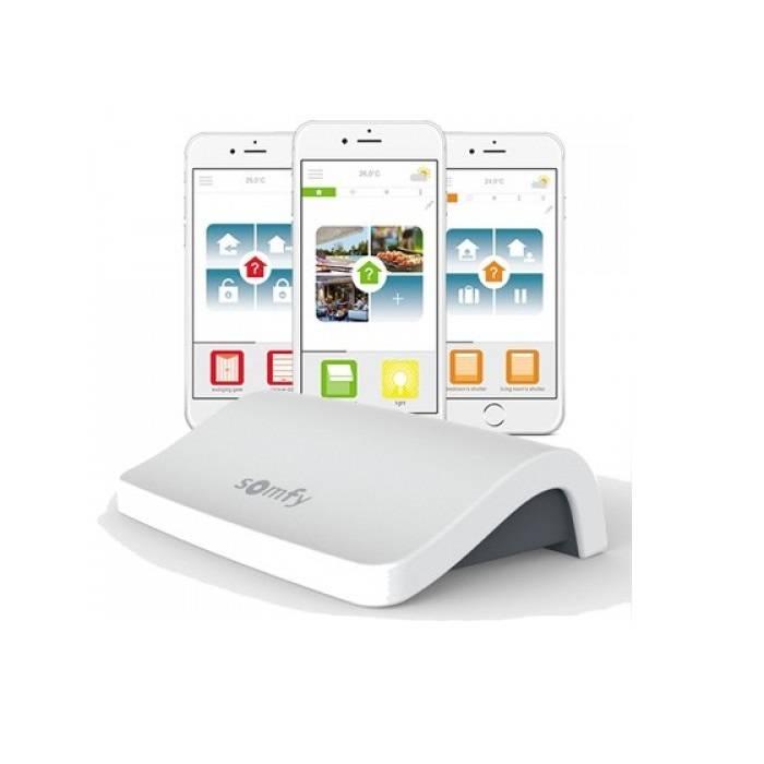 Connexoon Somfy - pilotage des volets à distance sur smartphone